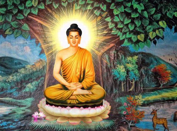 Đức Phật thuyết giảng về sự đau đớn